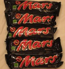 5 Mars Chocolate Candy Bars 52g Canada Canadian FRESH Ship from USA