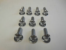 New Harley Softail Chrome Rear Fender Strut Bolts 2006, 2007 FLSTF, FXST, FXSTS