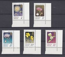 TIMBRE STAMP 5  ILE PITCAIRN  Y&T#128-32 FLEUR FLOWER NEUF**/MNH-MINT 1973 ~A98