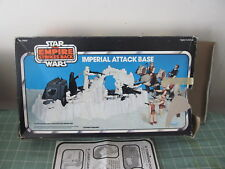 Star Wars vintage Imperial Attack Base in box COMPLETE EXCEPT FOR 1 PIECE
