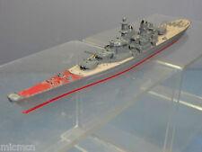"TRI-ANG HORNBY MINIC WATERLINE SHIPS MODEL No M743 USS '' MISSOURI"" BATTLESHIP"