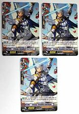 TD01/006IT-C 3x TRISTAN, CAVALIERE DELL'ARPA Cardfight Vanguard CFV