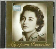 Algo Para Recordar Lucy Diaz Latin Music CD