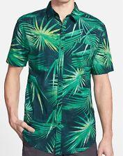 BILLABONG Men's PALMDALE S/S Woven Shirt - MRE - XL - NWT