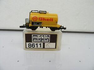 "Z - Marklin 8611 Tank Car ""Shell""  - LNIB *6"