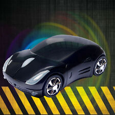 Fashion 3D USB Wired Mouse Mice Car Shape for PC Laptop Notebook Computer Black