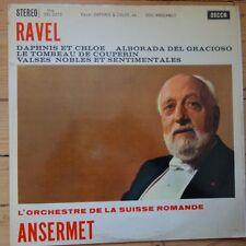 SXL 2273 Ravel Daphnis & Chloe, etc. / Ansermet / OSR W/B