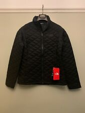 North Face Women's Thermoball Jacket Size M, Matte Black, New With Tags RRP £180
