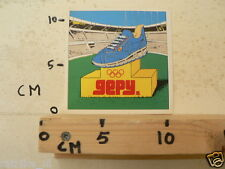 STICKER,DECAL GEPY OLYMPIC SHOES 1980 ?