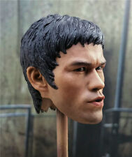 1/6 Scale Bruce Lee Head Sculpt Way of the Dragon Chinese Kung Fu Star Headplay