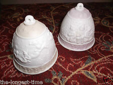 Lot of 2 Lladro Collectors Society Bells 1989 & 1987, with boxes