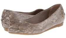 Life Stride Qute ballet flat tan snake patterned patent soft system sz 10 Md NEW