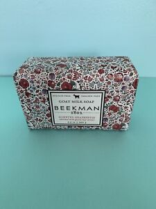 Beekman 1802 Goat Milk Soap Honeyed Grapefruit 9 oz  New