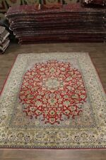 10X13 Traditional Najafabad Isfahan Persian Rug Oriental Area Carpet 9ʹ7X12ʹ5