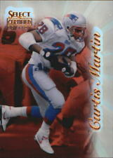 1996 Select Certified Mirror Red Premium Stock Football Card #77 Curtis Martin