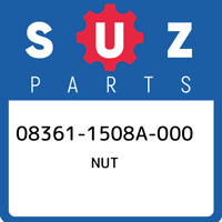 08361-1508A-000 Suzuki Nut 083611508A000, New Genuine OEM Part
