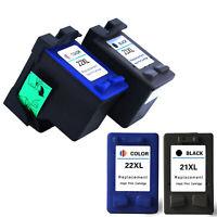 21/22XL Colour/Black Inkjet Ink Cartridge For HP Printer F2100 F2180 F2210 F2280