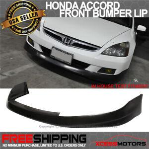 Fits 06-07 Honda Accord 2Dr HFP-Style Front Bumper Lip Spoiler PU