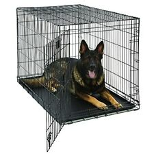 """Midwest 48"""" Life Stages Single Door Dog Crate Fold Flat Easy Storage Durable"""