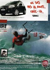Publicité advertising 2007 Fiat 4X4 Sedici Dynamic avec Jose Luengo