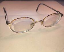 624dd783d12 Vintage Round Kara Eyeglasses Frames Made In ITALY 50   20 130