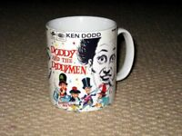 Set Of 4 Ken Dodd and His Diddy Men Tickle Sticks Button Pin Badges