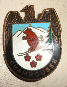 INSIGNE ski de MONTAGNE CHAMROUSSE