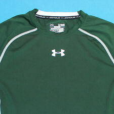 UNDER ARMOUR Compression Recovery Athletic Sport Green Shirt Mens XL Extra Large