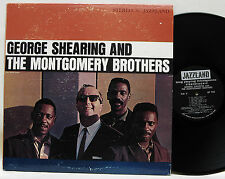 George Shearing Montgomery Brothers Jazzland USA è VG + + # 43