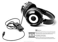 Zumreed X2 Hybrid Black Headphones ZHP-015 **Brand New**  EXPRESS SHIPPING
