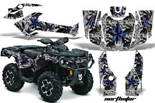 Can Am AMR Racing Graphics Sticker Kits ATV CanAm Outlander SST Decals 2012 NSBG