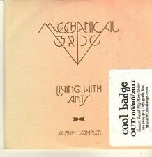 (CP297) Mechanical Bride, Living With Ants sampler - 2011 DJ CD