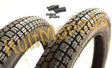"2 Reifen VeeRubber VRM013 43J Schlauch pas f Simson SR2-E DKW Hummel 2,25 19"""