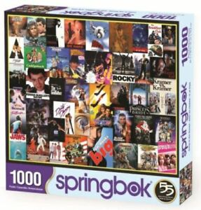 Going to the Movies (Classic Posters) 1000 piece jigsaw puzzle 762mm x 610mm(sk)