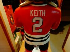 DUNCAN KEITH STANLEY C CHICAGO BLACKHAWKS 3 FOOT BOBBLE( 1/1 JERSEY#2/50)FOREVER