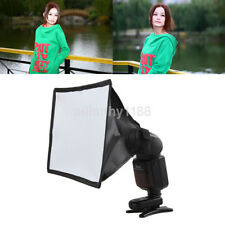 New Pro Mini Portable Softbox Diffuser for Flash/Speedlite/Speedlight 15*17cm US