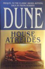 BRIAN HERBERT DUNE:HOUSE ATREIDES HARDCOVER 1ST EDITION 1999 VG/NF RARE