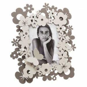 Porta Foto Portafoto Con Fiori e Farfalle Daisy Design Arti e Mestieri In Ferro