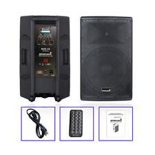 "STARAUDIO 15"" 4000W PA Powered Active DJ Speaker System W/Bluetooth PA Speaker"