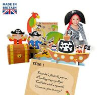Pirate Treasure Hunt Party Game for kids, ebay