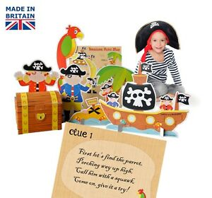 Pirate party game for kids - Treasure Hunt Game for kids, made in the uk, ebay