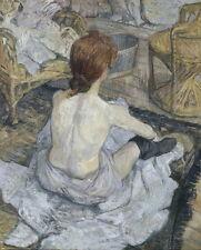 Henri de Toulouse Lautrec Rousse Giclee Canvas Print Paintings Poster Reproducti
