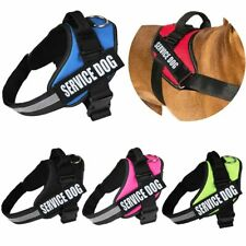 Service DOG VEST HARNESS Parches Reflectante robusto y durable Ajustable XS-XXL