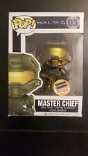 New Funko Pop Halo 4 Master Chief #03 Gold Blockbuster Exclusive