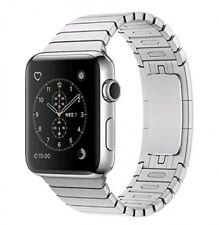 Apple Watch Series 2 [inkl. Gliederarmband silber] 42mm Edelstahlgehäuse silbe S