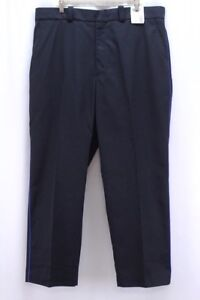 NEW mens navy blue HORACE SMALL work uniform pants TA22883 piping 40 x 30