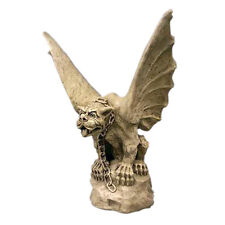 """Chained Gargoyle of Turin Statue Sculpture 17"""" Replica Reproduction"""
