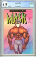 Mask #0 CGC 9.8 White Pages (Dark Horse 1991) 2078714002
