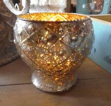 Photophore Porte-bougies Orient ancien style maison de campagne verre