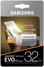 Samsung 32 Go Micro SD Card SDHC New EVO + 95mb/s UHS-I Class 10 TF Memory Card